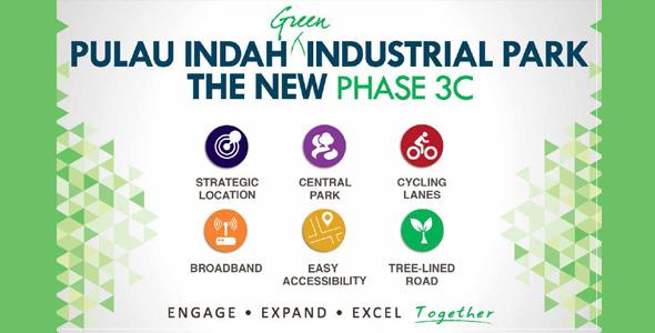 Pulau Indah Industrial Park Phase 3C: Open For Sale