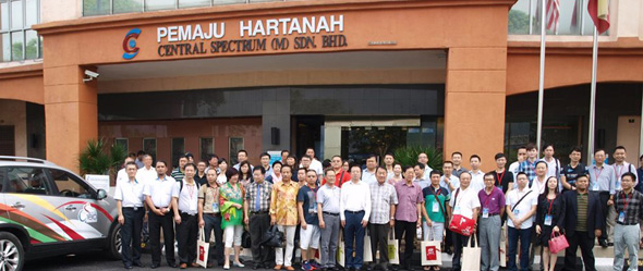 Central Spectrum (M) Sdn. Bhd Receives Delegates From China