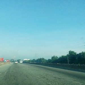 Road Upgrade And New Flyover Construction Along The Pulau Indah Expressway