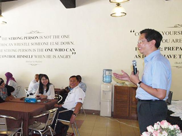 A Courtesy Visit By YB Dato' Teng Chang Kim