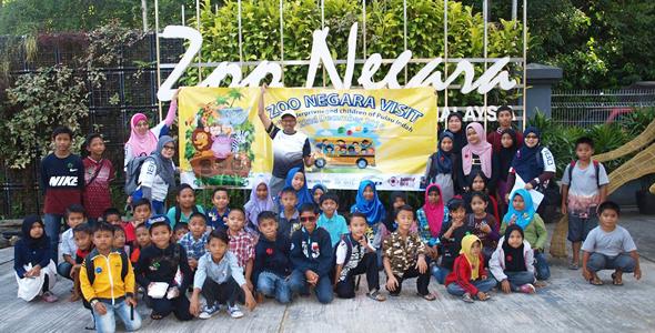 Children Of Pulau Indah Visit Zoo Negara