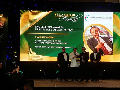 Selangor Excellence Business Award 2016