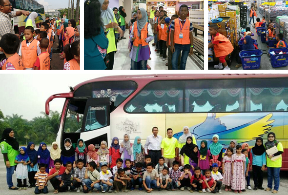 Hari Raya Preparations Program For Underprivileged Children In Pulau Indah