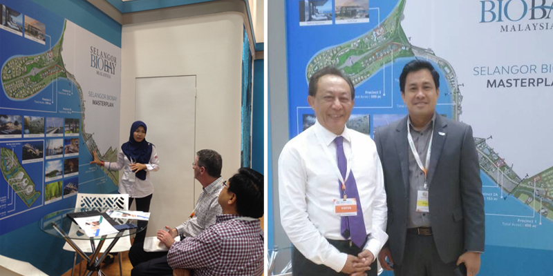 Promotional Campaign For Selangor Bio Bay Project At Bio-Malaysia & Asia Pacific Bio-Economy 2017