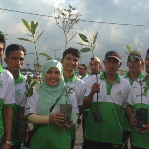 Mangrove Planting At Pulau Indah Industrial Park 3A