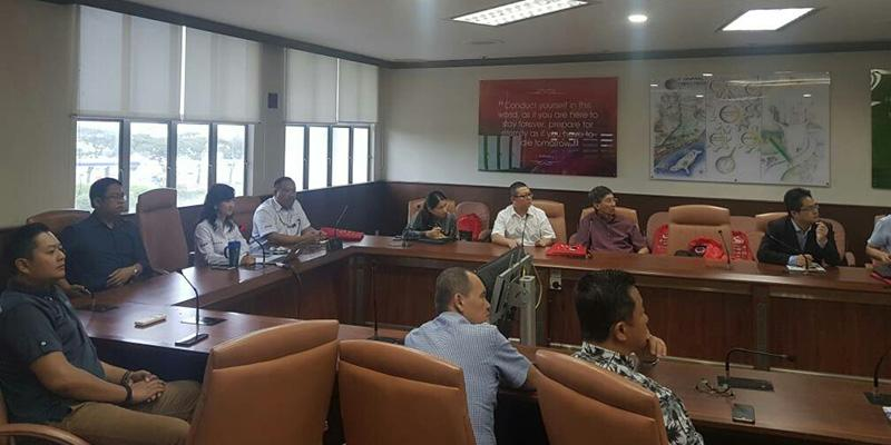 Site Visit By Malaysia-China Entrepreneurs