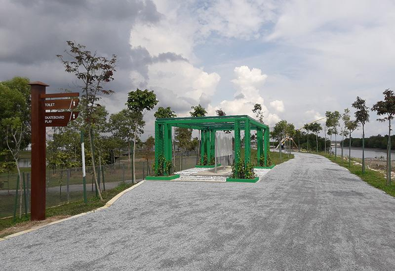 Update on the completion of River Track Cycle Park