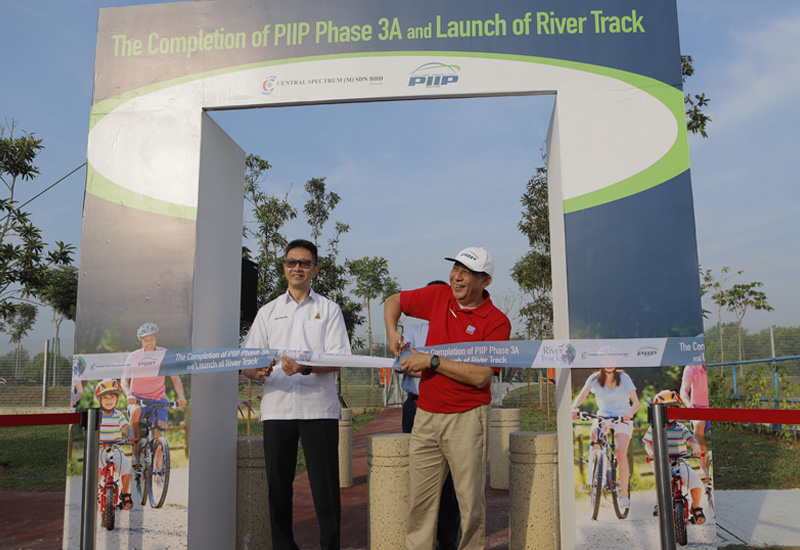 Completion PIIP Phase 3A And Launch Of River Track