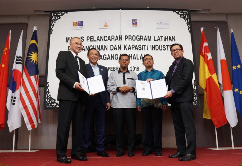 MoU Exchange Between Halal International Selangor & KUISCELL