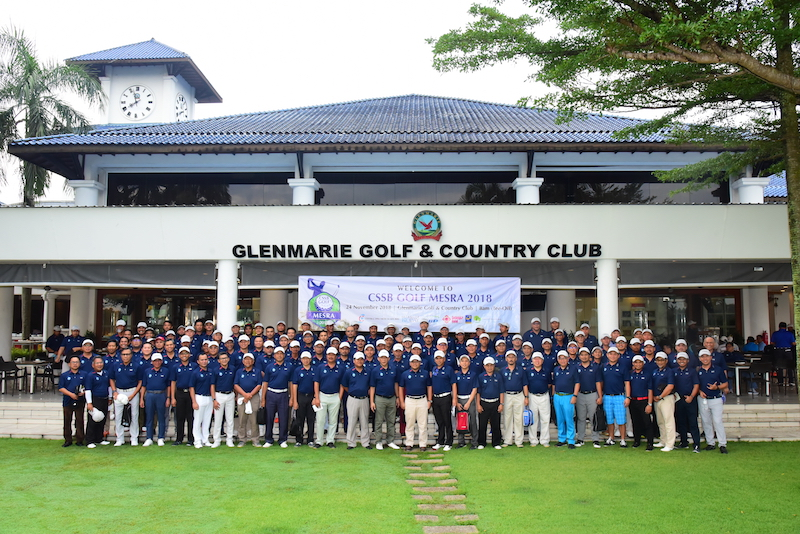 November 24,2018: Shah Alam, Malaysia:  Pictured During CSSB GOLF MESRA 2018 At Glenmarie Golf & Country Club On November 24,2018 In Shah Alam, Malaysia. (Photo By Masuti Ali / MYPHOTO2U)