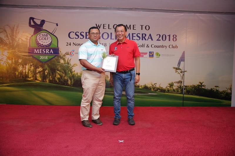 CSSB GOLF MESRA 2018