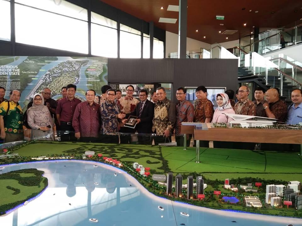 Indonesian Industrial Park Delegation Visits The Selangor Halal Hub