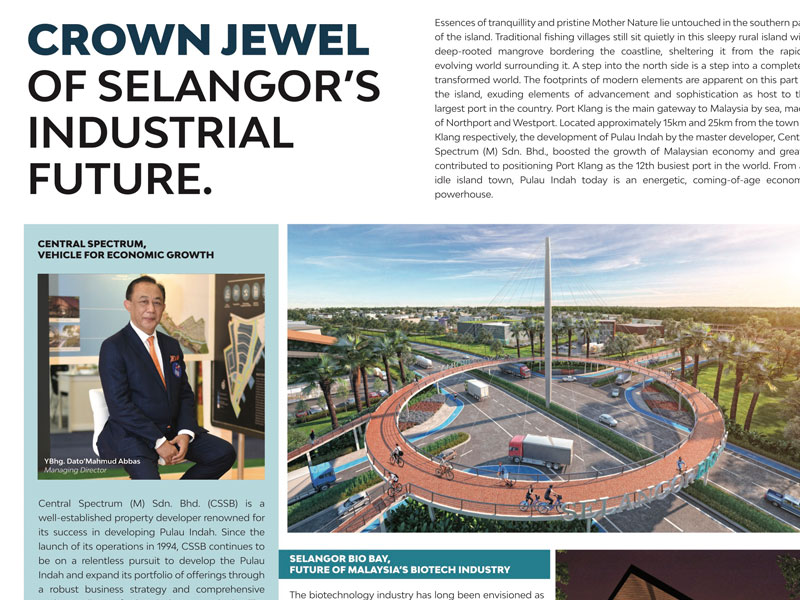 Crown Jewel Of Selangor's Industrial Future