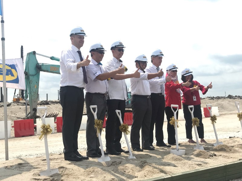Pulau Indah Home To IKEA's RM900mil Distribution Centre