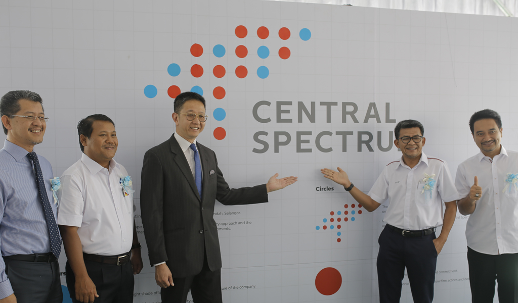 Central Spectrum – New Logo,  New Chapter