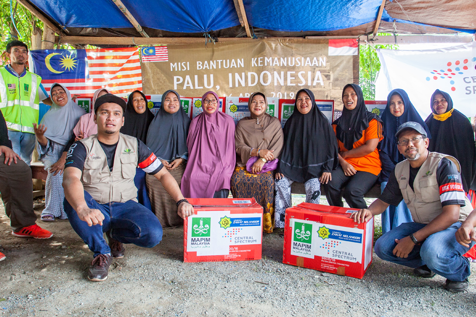 Sembako For Palu, A Humanitarian Mission Beyond Border