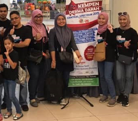 Amal Leads Blood Donation Campaign